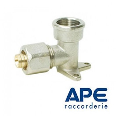 Кутник монтажний з внутрішньою різьбою 16 х 1/2 APE 752L APE