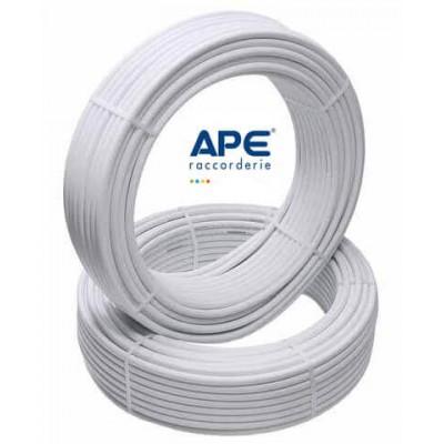 Труба металопластикова APE PEX-B/AL/PEX-B 20x2.0 біла APE