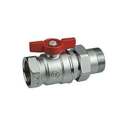 Кульовий кран з американкою DN15 Giacomini (R259X003) Giacomini