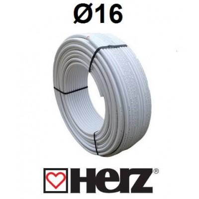 Труба металопластикова Herz PE-RT/AL/PE-HD 16x2.0 Herz