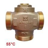 HERZ Teplomix DN32 триходовий клапан 55°C