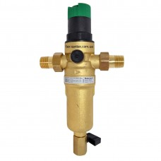 Фильтр с редуктором давления для горячей воды Resideo Braukmann FK06-1/2AAM