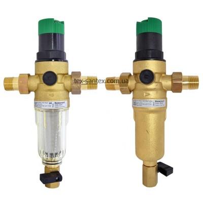 Комплект фільтр з редуктором тиску Resideo Braukmann FK06-1/2AA / FK06-1/2AAM Honeywell