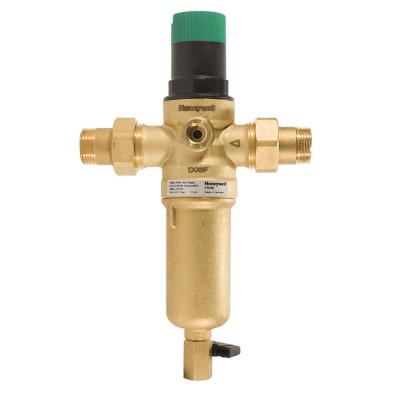 Фільтр з  редуктором тиску для гарячої води Resideo Braukmann FK06-3/4AAM Honeywell