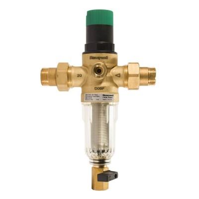 Фільтр з  редуктором тиску для холодної води Honeywell FK06-3/4AA Honeywell