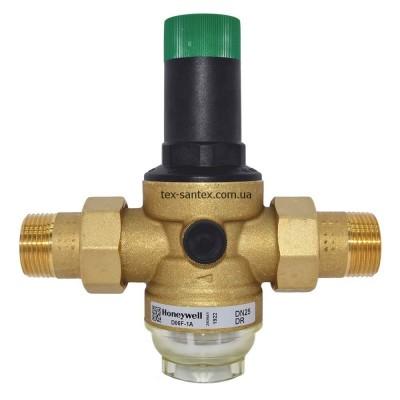Редуктор давления для воды Resideo Braukmann D06F-1A Honeywell