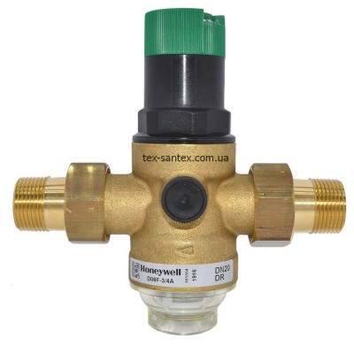 Редуктор тиску для води Honeywell D06F-3/4A Honeywell