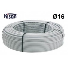 Труба металлопластиковая Kisan PEX-Xb-AL-PE 16x2.0 белая