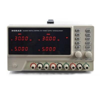 KA3305D двухканальный блок питания 30V 5А KORAD TECHNOLOGY