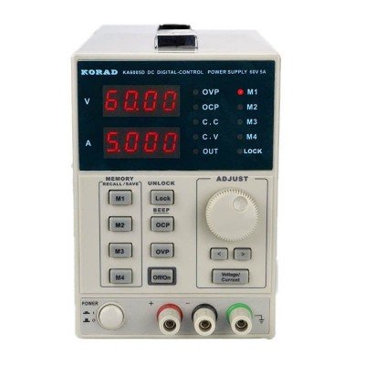 Лабораторный блок питания KA6005D 60V 5A KORAD TECHNOLOGY