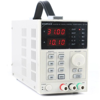 Лабораторний блок живлення 0-10 A 0-30V KA3010D KORAD TECHNOLOGY