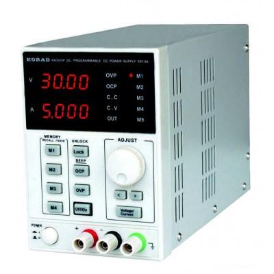 Лабораторний блок живлення 0-5 A 0-30V KA3005D KORAD TECHNOLOGY