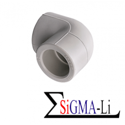Колено ПП 20 x 90° Sigma-Li Sigma-Li
