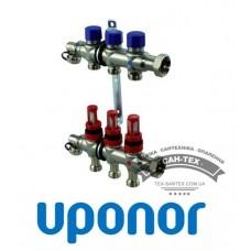 Колектор сталевий Uponor VARIO S 3 виходи
