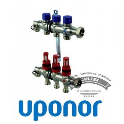 Колектор сталевий Uponor VARIO S 3 виходи Uponor