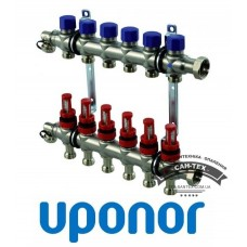 Колектор сталевий Uponor VARIO S 6 виходів