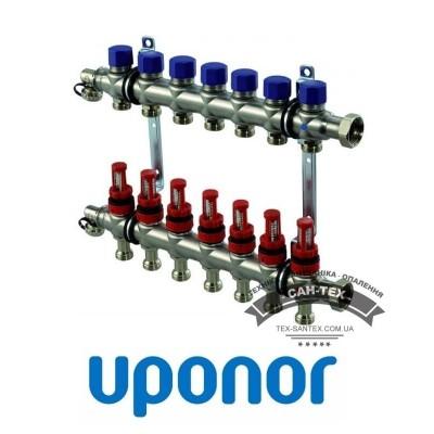 Колектор сталевий Uponor VARIO S 7 виходів Uponor