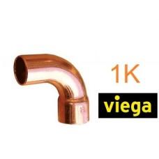 Коліно мідне 15 90° 1K Viega під пайку