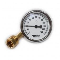 Термометр біметалічний Watts ∅63 F+R801 OR