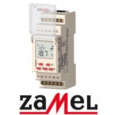 Програмований терморегулятор для теплої підлоги ZAMEL RTM-20