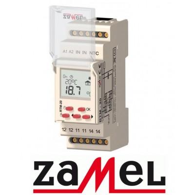Програмований терморегулятор для теплої підлоги ZAMEL RTM-20 Zamel